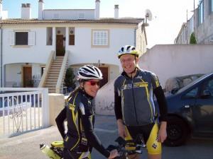 Klaar voor de fietsrit
